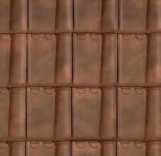 toiture en tuile rustique
