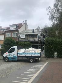 Toiture en tuiles Pottelberg sur la commune d'Anderlecht