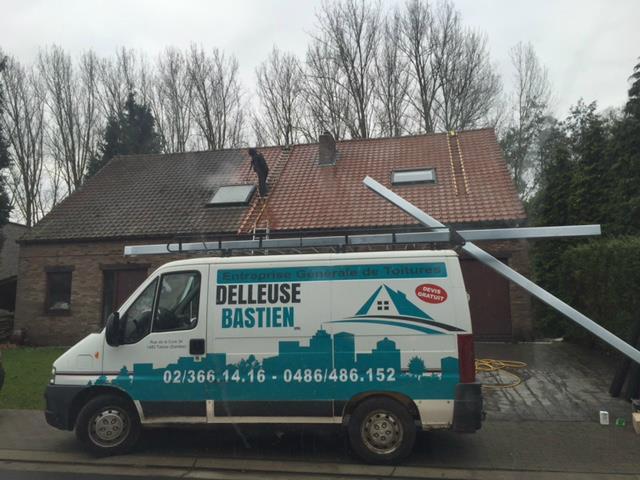 Démoussage à Dilbeek