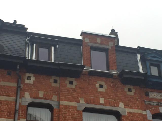 Toiture en tuile Pottelberg à Ixelles